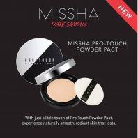Pro-Touch Powder Pact SPF25/PA++ [Missha]