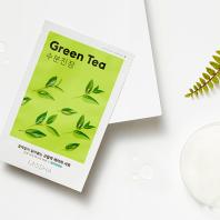 Airy Fit Green Tea Sheet Mask [Missha]