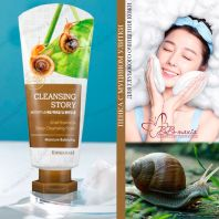 Snail Essential Deep Cleansing Foam Cleansing Story [Welcos]