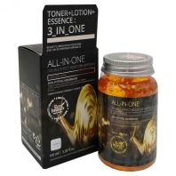 All-in-one Double Effect Moisture Ampoule 3 in 1 Golden Snail [Eco Branch]