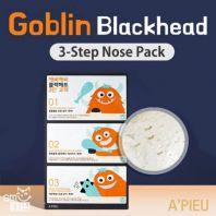 Goblin Blackhead 3-Step Nose Pack [A'PIEU]