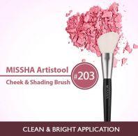 Artistool Cheek & Shading Brush #203 [MISSHA]
