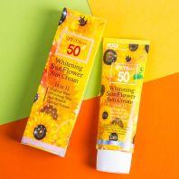 Whitening Sun Flower Perfect Sun Cream 50 SPF/PA+++ [Leiya]