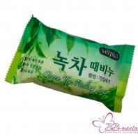 Green Tea Peeling Soap [Juno]