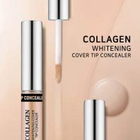 Collagen Whitening Cover Tip Concealer 3 in1 #01 Light Beige [Enough]