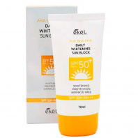 AHA BHA PHA Daily Whitening Sun Block SPF50/PA+++ [Ekel]