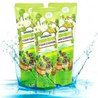 Sparkling Green Grape Foam Cleanser [Esfolio]