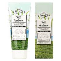 Real Fresh Aloe & Green Tea Foam Cleanser [GRACE DAY]