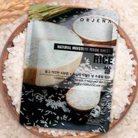 Natural Moisture Rice Mask Sheet [Orjena]