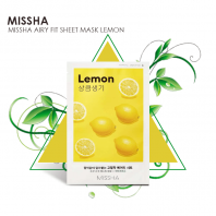 Airy Fit Lemon Sheet Mask [Missha]