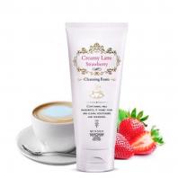Creamy Latte Strawberry Cleansing Foam [Missha]