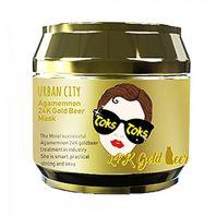 Urban City Agamemnon 24K Gold Beer Mask