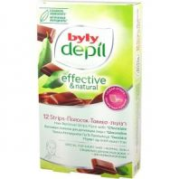Hair Removal Face Strips Chocolate [Byly Depil]