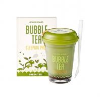 Bubble Tea Sleeping Pack Green Tea [Etude House]