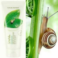 Fresh Herb Snail Cleansing Foam [Nature Republic]