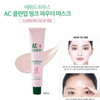 AC Clean Up Pink Powder Mask [Etude House]