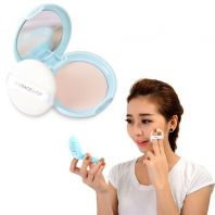 Oil Clear Smooth & Bright Pact SPF30 PA++ [The Face Shop]