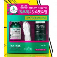Tea Tree Clearing Oil Set [Scinic]