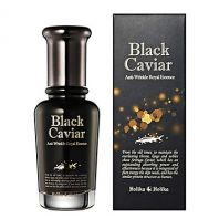 Black Caviar Anti-Wrinkle Royal Essence [Holika Holika]