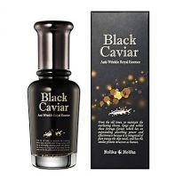 Black Caviar Anti-Wrinkle Royal Essence [Holika Holika]