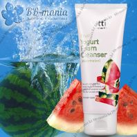 Fruits Yogurt Foam Cleanser Watermelon [Ottie]