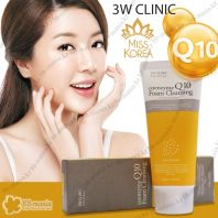 Q10 Foam Cleansing Anti Sebum [3W CLINIC]