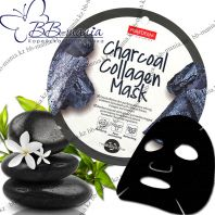 Charcoal Collagen Mask [Purederm]