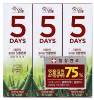 LG Bamboo Salt 5 Days Toothpaste