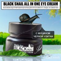 Black Snail All In One Eye Cream [FarmStay]