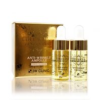 Collagen & Luxury Gold Anti-Wrinkle Ampoule [3W CLINIC]