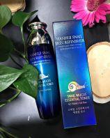 Snail Skin Refinisher Snail Mucus Essential Toner [Hanhui]
