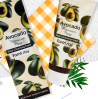 Avocado Premium Pore Deep Cleansing Foam [FarmStay]