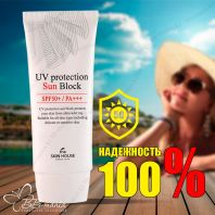 UV Protection Sun Block SPF50+/PA+++ [The Skin House]