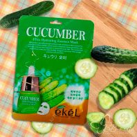 Cucumber Ultra Hydrating Essence Mask [Ekel]