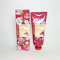 Pink Flower Blooming Rose Hand Cream [FarmStay]