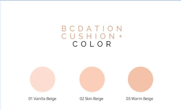 BCDation Cushion+ [Tony Moly] свотч2
