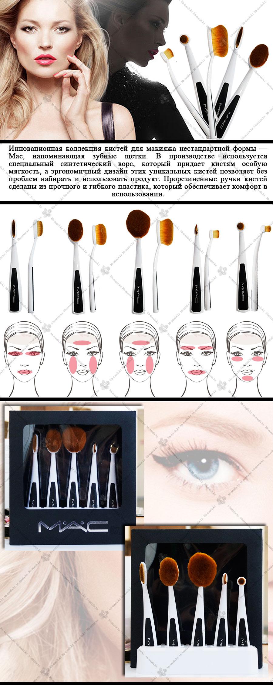 Кисточки для макияжа какая для чего описание