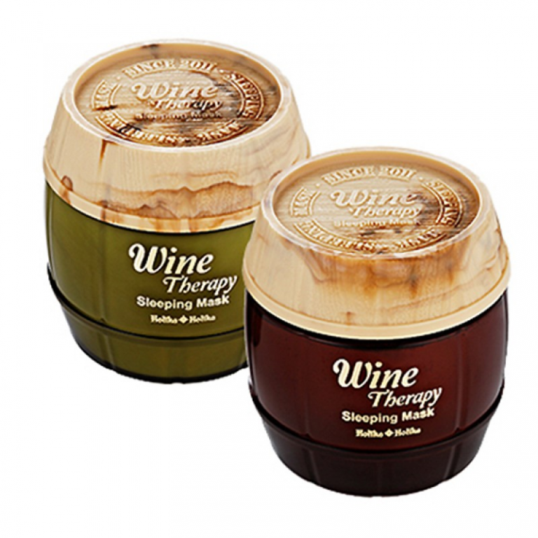 Wine Therapy Sleeping Mask [Holika Holika]