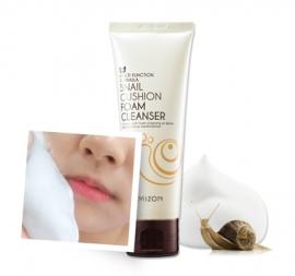 Snail Cushion Foam Cleanser [Mizon]