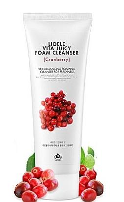 Vita Juicy Foam Cleanser Cranberry [Lioeole]