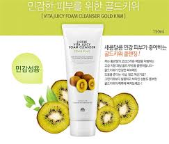 Vita Juicy Foam Cleanser Gold Kiwi [Lioele]