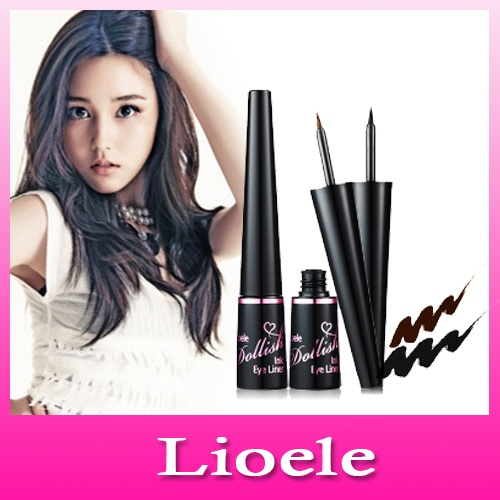 Dollish Ink Eyeliner 01 Black 5 ml [Lioele]