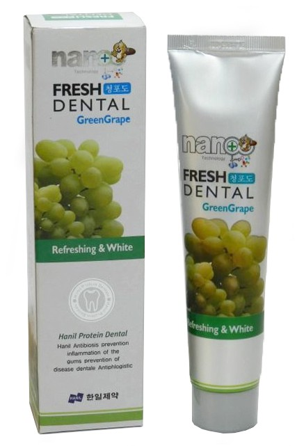 Nano Fresh Dental Toothpaste Green Grape [Hanil Pharmaceutical]