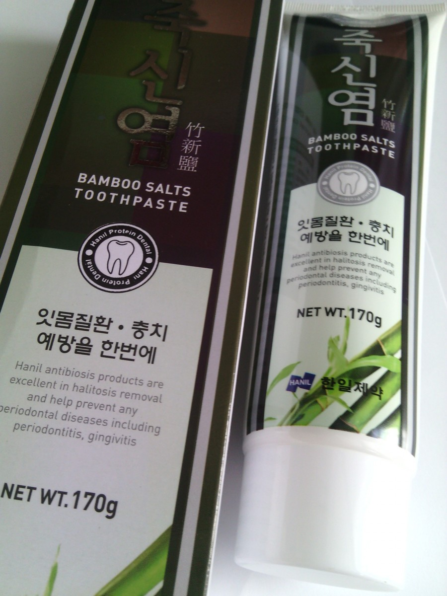 Bamboo Salts Toothpaste [Hanil Pharmaceutical]