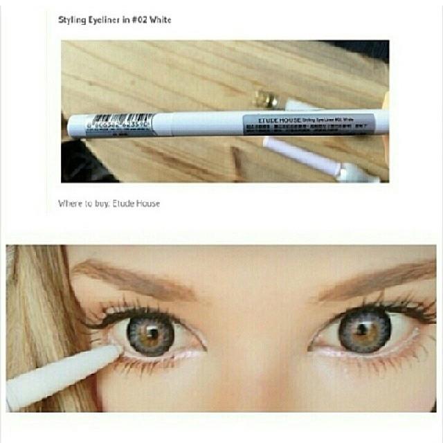 Styling Eye Liner #2 White [Etude House]