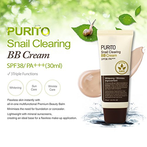 Snail Clearing BB Cream SPF38/pa++ [Purito]