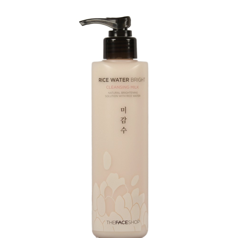 Rice Water Bright Cleansing Milk [The Face Shop]