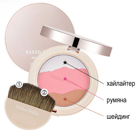 Naked Face Multi Pact [Holika Holika]