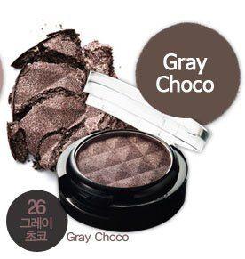 Color Eye Shadow 26 Gray Choco [Lioele]