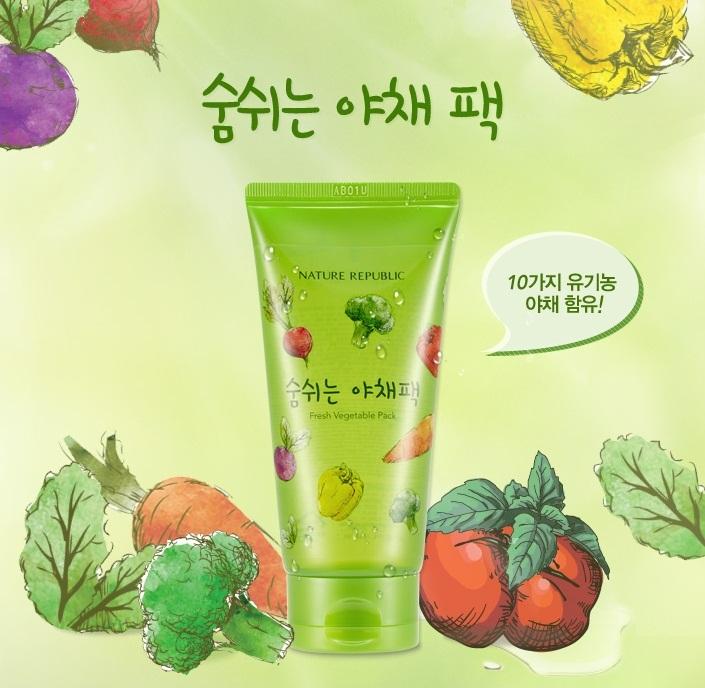 Fresh Vegetable Pack [Nature Republic]